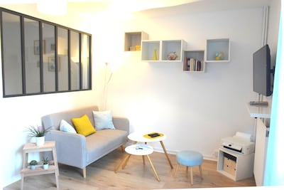 Bienvenue Aù péï de Naunnt, un appartement relaxant, lumineux et moderne