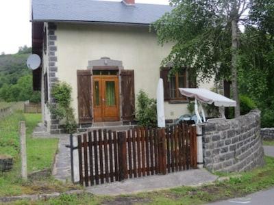 Vue de l'entrée de la maison