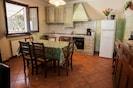 Cucina tipica toscana in stile classico