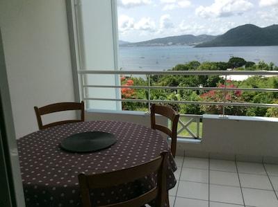Appartement avec vue mer des Caraïbes
