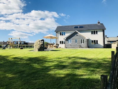 Modern detached property in the heart of Wales