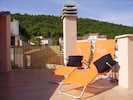 Relax on Casa Rosa's roof terrace
