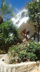 escalier appartement de l'extérieur