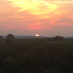 Beautiful Country Sunsets I