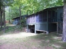 2 cabins available for rent side by side