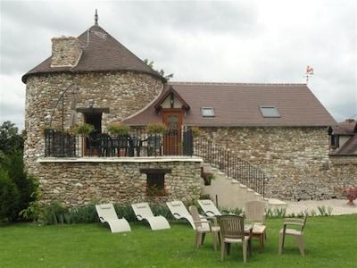 """maison de vacance """" la tour """"normandie"""