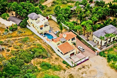 Pescadero Palace aerial view