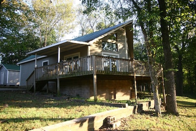 Peaceful Riverfront Cabin on The King's River