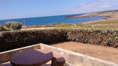 vue de la maison (la pelouse a été refaite))