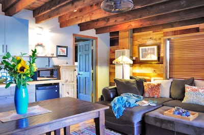 Rustic Charm Infused with Modern Design!