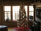 Christmas tree for 2017 set up in Great room for your enjoyment.