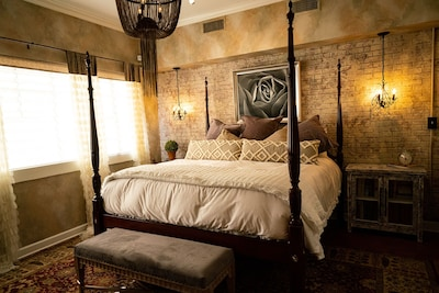 NEW!  King Bedroom. Construction just complete 08/2019!