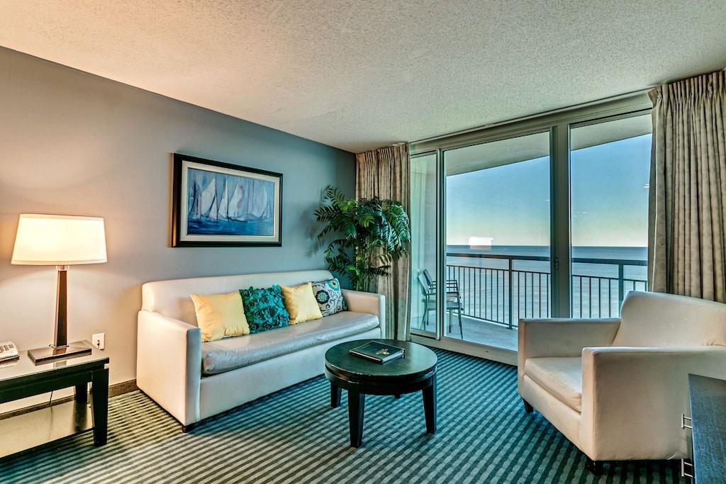 Luxury Condo Modern Decor Stunning Direct Ocean Front View New 50 Smart Tv Myrtle Beach