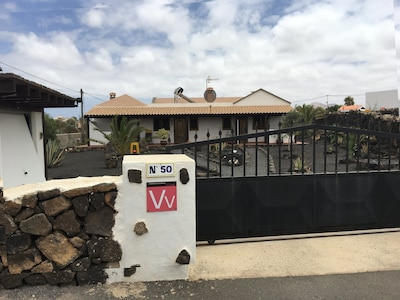 Vista  Casa Carlotta Lajares