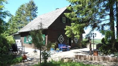 Haus in Alleinlage nahe Prüm, gr.Garten,Lagerfeuer, Feste,Wandern,Wlan, Hunde,