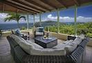 Great Patio Overlooking Hans Lollick and British Virgin Islands