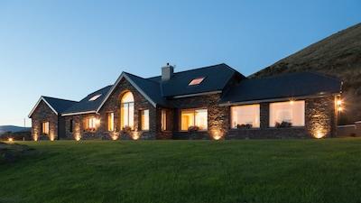 Glentanes House at Sunset