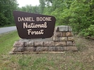 Daniel Boone National Forest, some of the most beautiful country in the US!