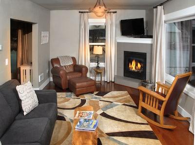 Comfortable living room for socializing.