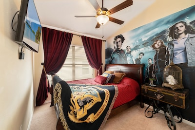 Born a Muggle or a Wizard, this room will amaze!