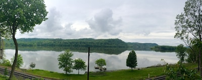 Lake Aldred, view from Lake House.