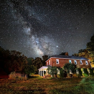Our Farmhouse is perfect for stargazing on a clear night!