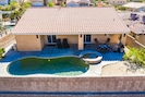 Yes - You will have access to a real mineral water pool and spa!