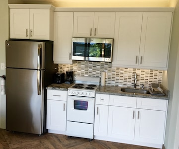 Renovated Fully Equipped Kitchen.
