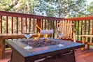 Enjoy a glass of wine by the fire pit or let the kids roast their marshmallows