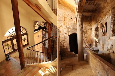 ground floor & stair way