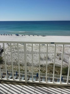 Blue skies, blue waters and white sand!