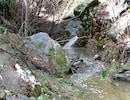 Coleman Creek waterfall (seasonal creek).