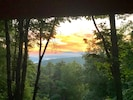 Morning view from the new deck