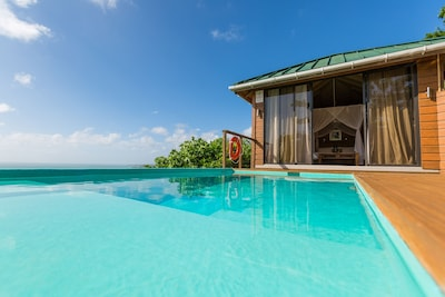 Refreshing and inviting, your private plunge pool.