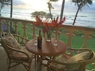 Have a nice glass of wine or cocktail on the lanai to wind down. See video link.