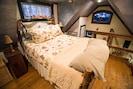 Queen bed upstairs is super comfortable