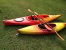 2 kayaks available for your use along with paddles, life jackets and roof rack.