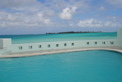 Endless view of turquoise waters