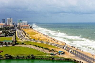 Plage de Crow Island, Colombo, Province occidentale, Sri Lanka