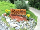 Just look for the carved sign at the front of the driveway -- you can't miss it!