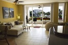 Living room rated one of the most comfortable at all of Residencias Reef