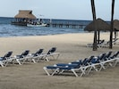 All the dive boats stop here at our pier.  Lots of lounge chairs to chose from