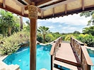 The bridge that leads to your yoga/meditation deck.