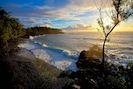Amazing Sunrises at Kehena beach, just steps away!