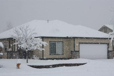 A cozy retreat when the snow falls.