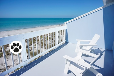 Your private gulf front balcony is part of the master bedroom suite.