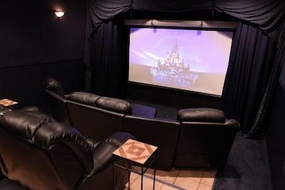 120' 3D Big Screen in the Sapphire Theatre