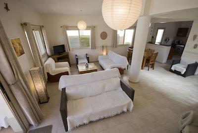 Villa Miya living room