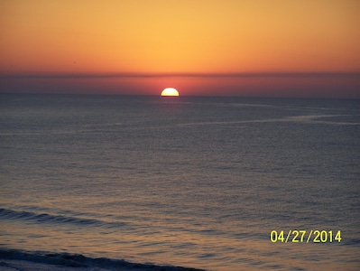 SUNRISE VIEW FROM BALCONY
