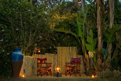 Enjoy the warmth and delights of an African evening